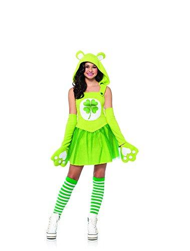 leg-avenue-juniors-care-bears-2-piece-good-luck-bear-costume-green-medium-large