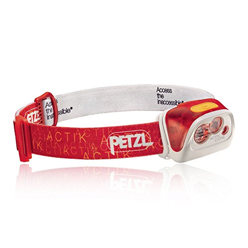 Petzl Actik Core Stirnlampe, Rot, One Size