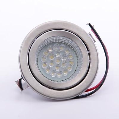 sweet led® 21 LED Einbaustrahler, G4, 230V, warmweiss, Nichtrostender Stahl von Sweet Led - Lampenhans.de