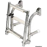 Scaletta inox 5 gradini English: S.S transom ladder 5 steps