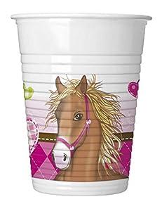 Procos - Vasos de plástico 200 ml, 8 unidades, multicolor, PR81082