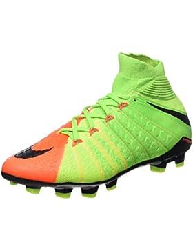 Nike Hypervenom Phantom 3 DF FG, Zapatillas de Fútbol Unisex Niños