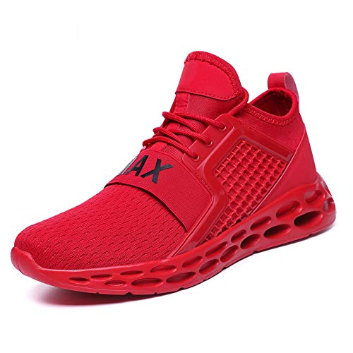 HOTSTREE Shoes Men Sneakers Summer Trainers Ultra Boosts Zapatillas Deportivas Hombre Breathable Casual Shoes Sapato Masculino Krasovki G15-red 9