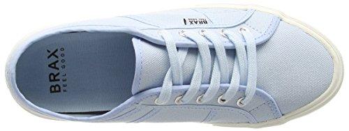 Brax Damen Schnürschuhe Sneakers Blau (061 celeste)