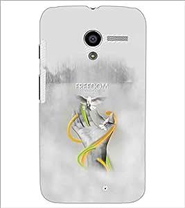 PRINTSWAG FREEDOM Designer Back Cover Case for MOTOROLA MOTO X