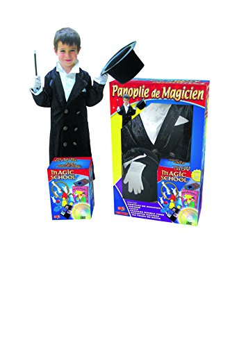 Oid Magic - Panoplia de mago DVD 100 + trucos de magia (5-7.5 años) Importado de Francia