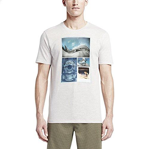Hurley Herren T-shirt JJF Photo Aloha Birch Heather