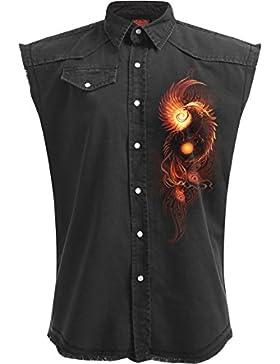 Spiral -  Camicia Casual  - Uomo