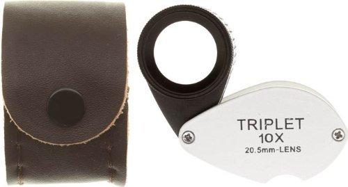 SE mj37810hr 10x 20,5mm Triplett Professionelle hitzebeständig Lupe -