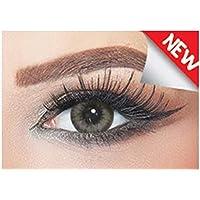 Bella Colored Diamond Collection Cosmetic Contact Lenses - Gray Green