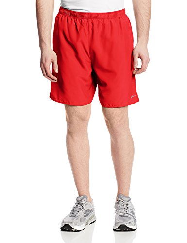 Asics Men's 7-Inch Core Pocketed Shorts, Red Heat, XX-Large (Running-short Asics Core)