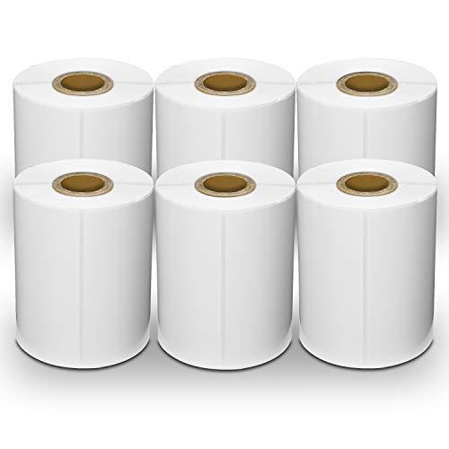 Versand-Etiketten, für Zebra-Drucker, 10,2 x 15,2 cm, 220 Stück 6 rolls