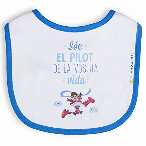 Bebé. Lätzchen Lustig für Baby Kollektion Träume in Katalanisch.