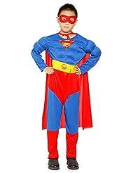 Neu Jungen Kostuem Spiderman Superman Batman Fasching Karneval Outfit Verkleidung 2016