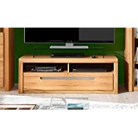 dreams4home lowboard tino viii tv unterteil tv schrank tv unterschrank schrank kommode wohnzimmer tv mobel b h t 123x43x51 cm 1 schubkasten