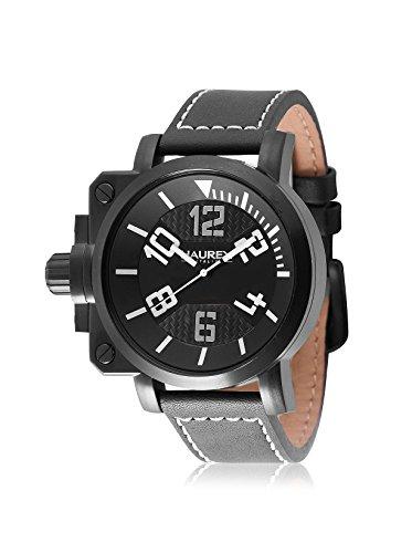 Haurex Italy hombre 6N508uwn pistola analógico pantalla Cuarzo Negro Reloj