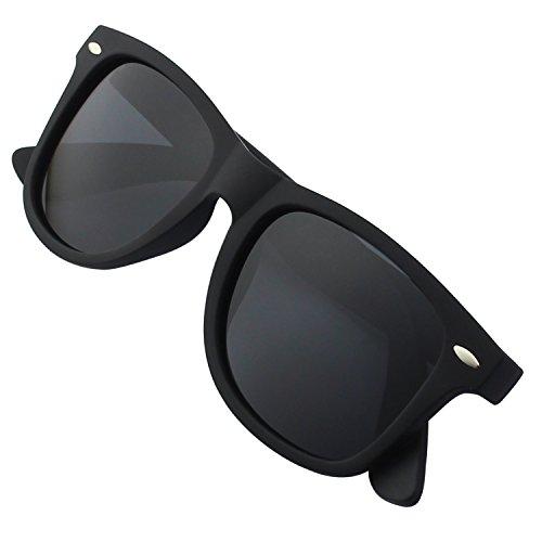 GQUEEN Occhiali da Sole Stile Wayfarer con Lenti Polarizzate GQF0