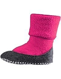 FALKE Kinder Cosyshoe Socken - 1 Paar, Größe 23-38, versch. Farben, 90% Schurwolle - Wärmender Stopppersocken mit Silikondruck und innenliegendem Plüsch