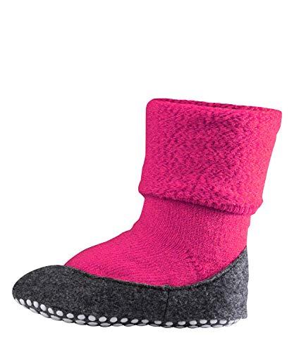 FALKE Kinder Socken Cosyshoe rutschfeste Haussocken - 1 Paar, Gr. 33-34, pink, Stoppersocken, Jungen Mädchen -