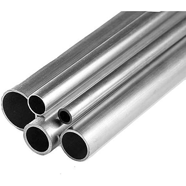 3,90 €//M Aluminium Round Tube 25x2mm Aluminium Profile Pipe 2 Metre
