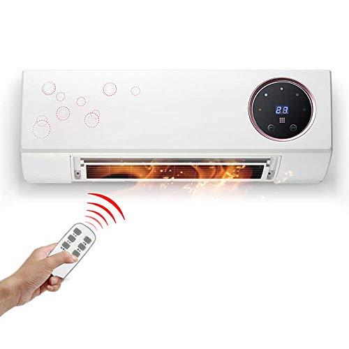 MJZKK Calefaccion Electrica | Calentadores Electricos | Control Remoto Inteligente Montado En...