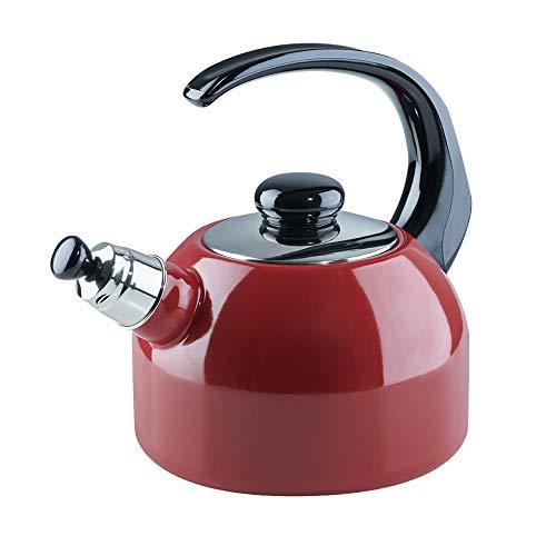 Flöten-Wasserkessel 2L Color Rot