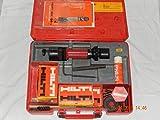 HILTI DX 100 L BOLZENSCHUSSGERÄT im original Werkzeugkoffer mit Restmunition, Montagezubehör und Bedienungsanleitung, geprüft