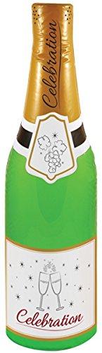 Other Aufblasbar Celebration Flasche 73cm champagner Flasche Blow Up Dekoration