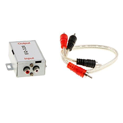 Sharplace Entstörfilter Auto Radio Entstörer Filter für Audio System mit Verbindungsleitung