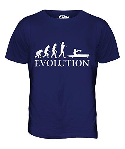 CandyMix Flyak Evolution Des Menschen Herren T Shirt Navy Blau