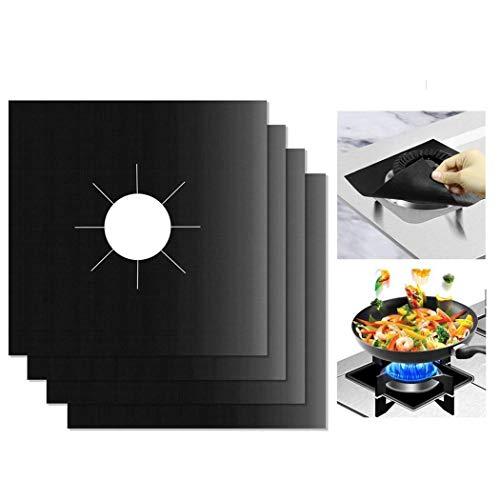 Iiloens Küche Gaskocher Kochen Temperaturbeständigkeit Schutz Clean Mat Fleischplatten & -Teller