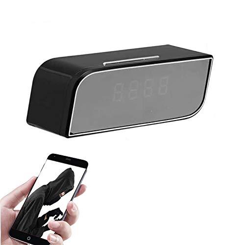 Monitoreo de la cámara, Reloj electrónico inalámbrico WiFi para el hogar, Control Remoto del teléfono móvil, videograbadora de Seguridad HD 4K de visión Nocturna