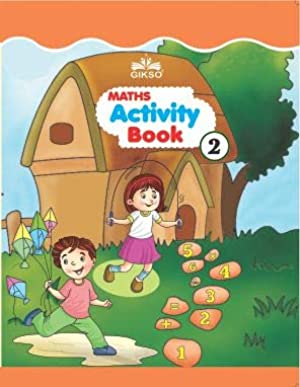 GIKSO Maths Activity Book – 2 for Kids Age 4-7 Years Old (English)