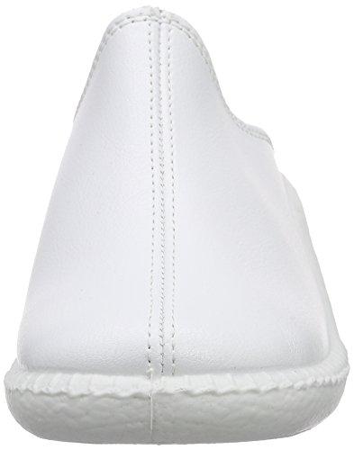 Romika Damen Mokasso 304 Pantoffeln Weiß (weiss 000)