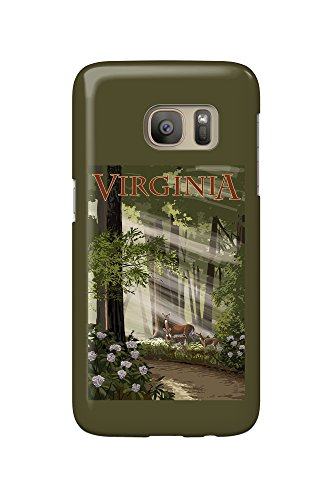 virginia-deer-family-galaxy-s7-cell-phone-case-slim-barely-there