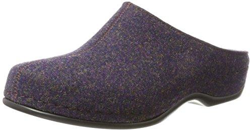 Berkemann Florina, Chaussons Mules Femme Violett (dunkle pflaume)