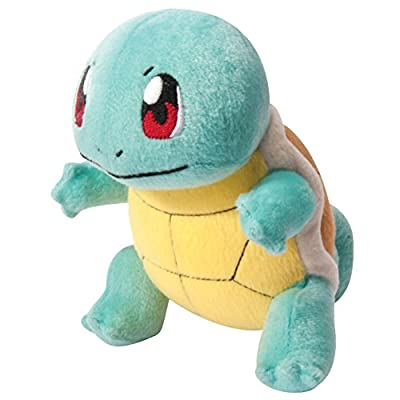 "Pokemon T18536SQUIRTLENEW ""Squirtle"" Plush Toy, 20 cm"
