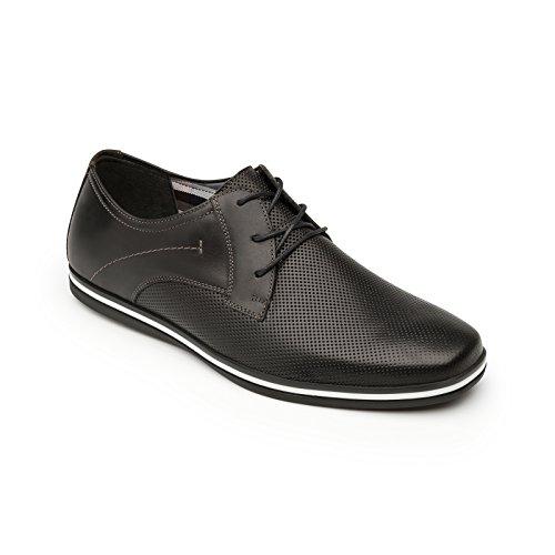 Flexi Shoes Mocassini Uomo Black