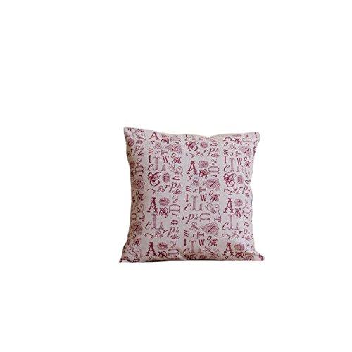 ZMMM casi di cuscino decorativo cotone lino
