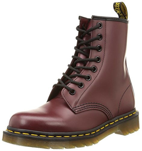 Dr. Marten's 1460 Original, Unisex-Adults' Boots, Cherry Red, 11 UK