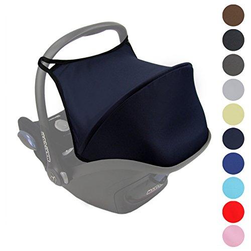 Bamibiwelt Sonnenverdeck UV50+ für Maxi-Cosi Cabriofix ** 11 FARBEN ** Sonnendach Babyschale Autositz Maxi Cosi (Marine)