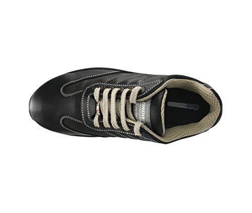 À Dqxpbwdrau Noir Chaussure Sécurité De Alex Nordways Lacets Homme Basse 4R5jL3A