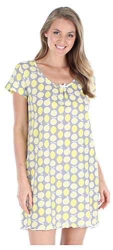 Sleepyheads Ropa de Dormir para Mujer Pijamas 100% algodón Camiseta camisón camisón (SHCJ1751-5050-UK-MED)