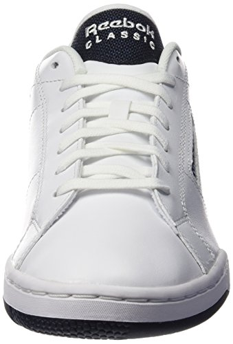 Reebok Npc Rad Pop, Scarpe Low-Top Uomo Multicolore (White/Collegiate Nav)