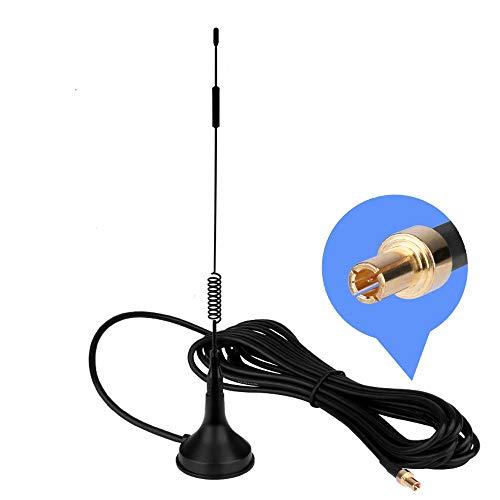 TS9 4G Antenne, LTE Antenne Wifi Signal Booster Verstärker Modem Adapter Netzwerk Empfänger / TS9 Stecker / 3m Kabel / 12 dBi Hochleistungs Gewinn ( Antenne TS9)
