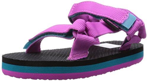 Teva  Original Universal C's, Sandales sport et outdoor mixte enfant - Rose - Pink (649 pink/turquoise), 27 EU