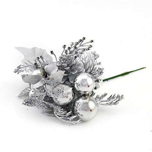 Watopi Weihnachtsbaumschmuck Ornamente Weihnachtskugel anhänger Rosen dekorative kreative Freunde liebste anhänger