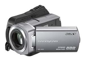 Sony DCR-SR55 Caméscope numérique hybride Disque Dur 40 Go / Memory stick Micro zoom avec station d'accueil