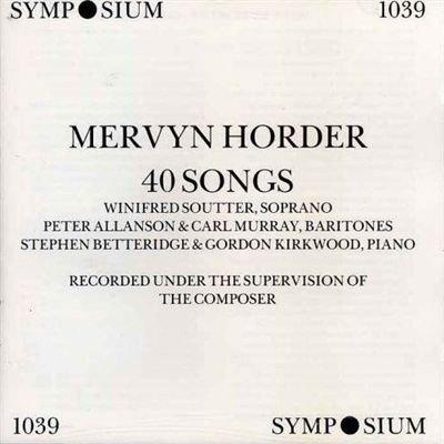 mervyn-horder-40-songs-1994-10-24