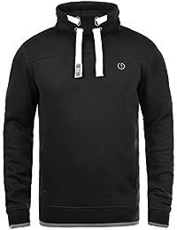 SOLID Benjamin Herren Sweatshirt Pullover Sweater mit Stehkragen aus hochwertiger Baumwollmischung